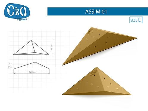 Накладной рельеф для скалолазания CRIO HOLDS ASSIM 01