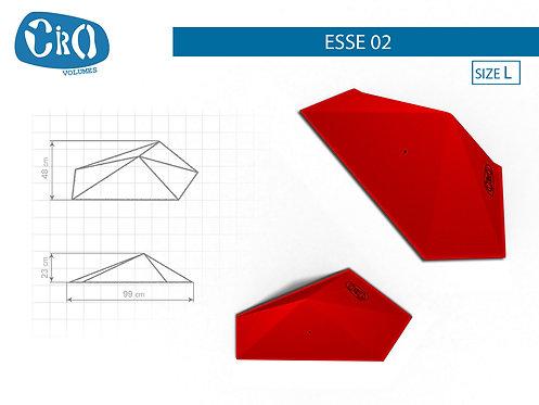 Накладной каркасный рельеф для скалолазания CRIO HOLDS ESSE 02