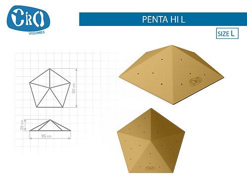 Накладной рельеф для скалолазания CRIO HOLDS PENTA HI L