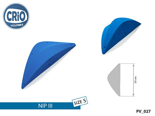 Накладной рельеф CRIO HOLDS NIP III