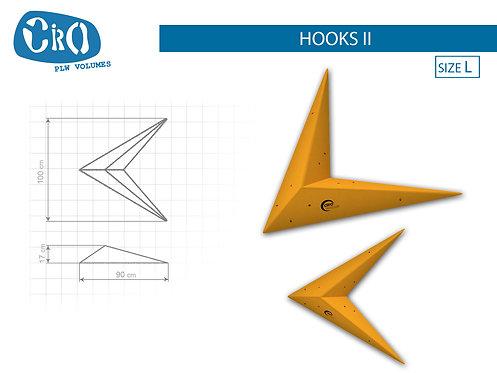 Рельеф каркасный накладной для скалолазания CRIO HOLDS HOOKS II