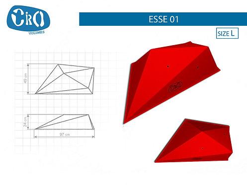 Накладной каркасный рельеф для скалолазания CRIO HOLDS ESSE 01