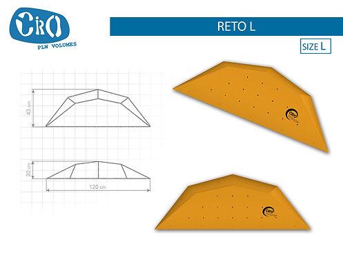 Рельеф каркасный накладной для скалолазания CRIO HOLDS RETO L