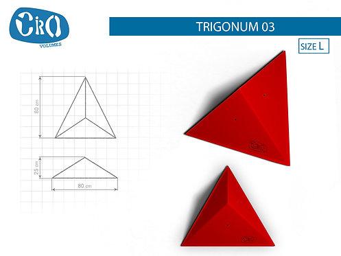 Накладной каркасный рельеф для скалолазания CRIO HOLDS TRIGONUM 03