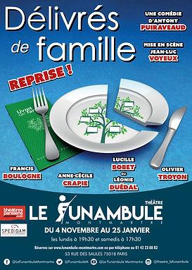 affiche delivres de famille Funambule RG