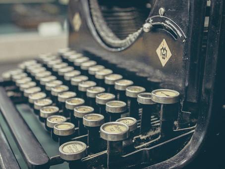 Ecrire en temps de confinement