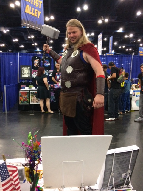 One of the great costumes at Comicpalooza 2018