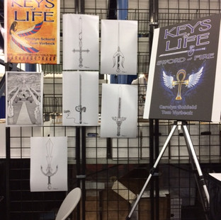 Sword Prints at Comicpalooza 2018