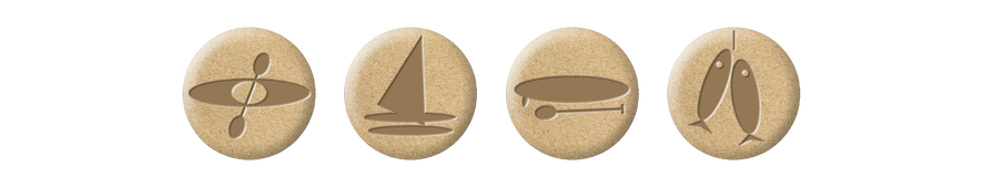 kayak & sailing website icons