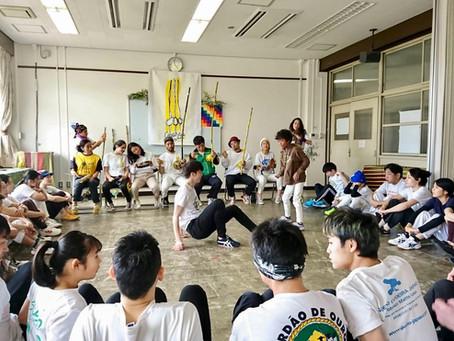 1/25 京都で年始のカポエィラアンゴーラの集い(ホーダ) - Roda de Capoeira Angola, Nzinga Kyoto