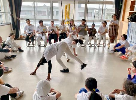2/22 京都でホーダ カポエィラアンゴーラインジンガ- Roda de Capoeira Angola, Nzinga Kyoto