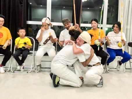 年末に京都でカポエィラアンゴーラの集い(ホーダ) - Roda de Capoeira Angola, Nzinga Kyoto