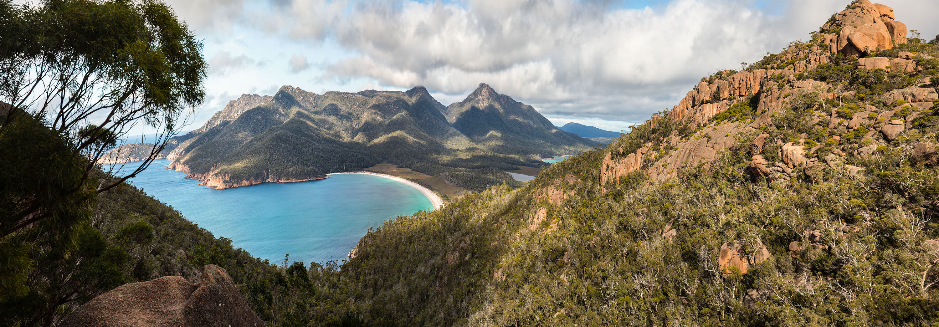 Tasmania: Wineglass bay, Australia