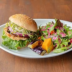Vegan Burger Lunch Set   ヴィーガンバーガーランチセット