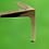 Thumbnail: Çapa Model Bingolu Metal Mobilya Ayağı