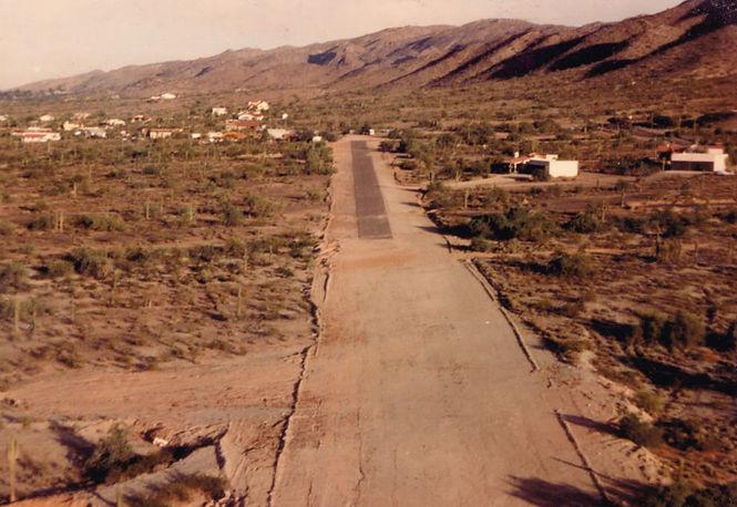 Runway 8 circa 1985