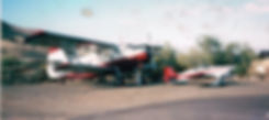 Antanov AN 2 and RV6 at HH 2014.jpg