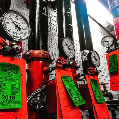 Fire Sprinkler System Inspection