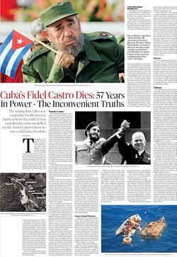 Cuba's Fidel Castr Dies - The Inconvenie