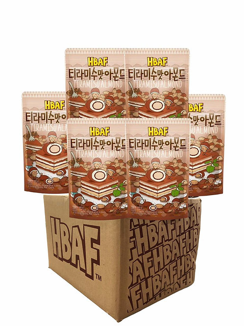 Tiramisu Chocolate Almond Box (25gX50 Packet)