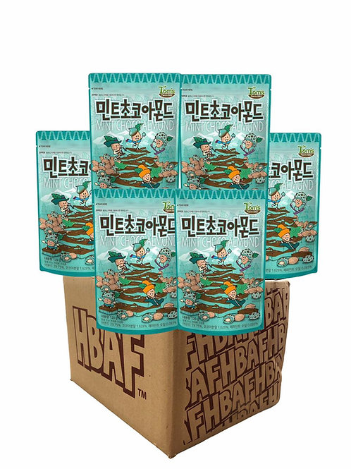Mint Choco Almond Box (25gX50 Packet)