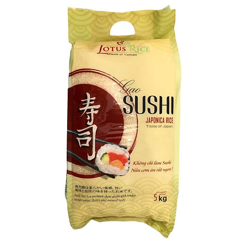 Lotus Rice Sushi Japonica 5kg