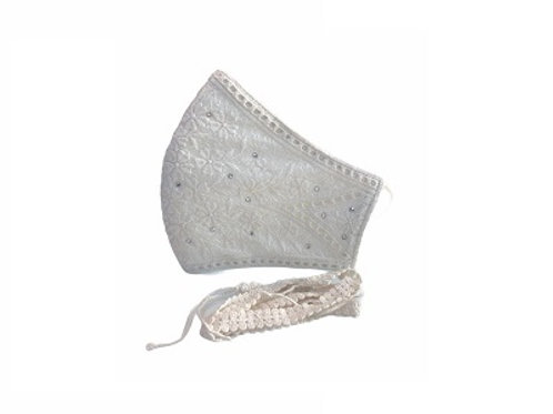 Lacely Copper-Ion Mask Ladies Off-White 1