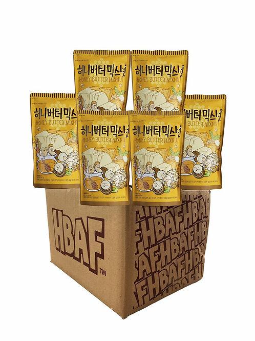 Honey Butter Mix Nut Box (25gX50)