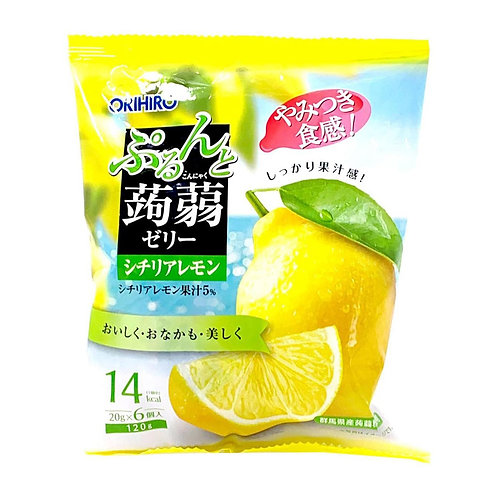 Lemon Konjac Jelly 120g