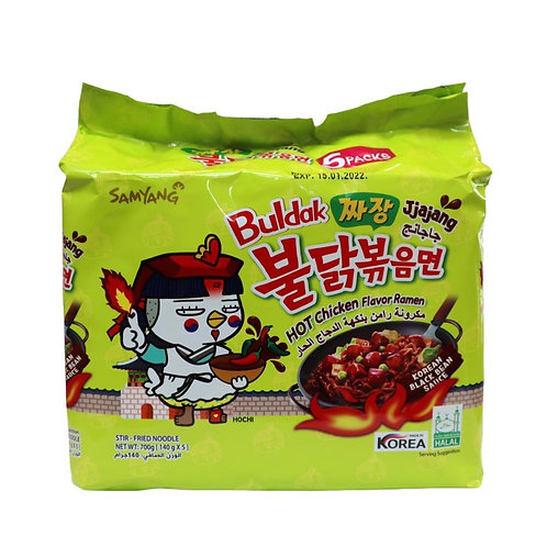 Hot Chicken Ramen Jajang 700g