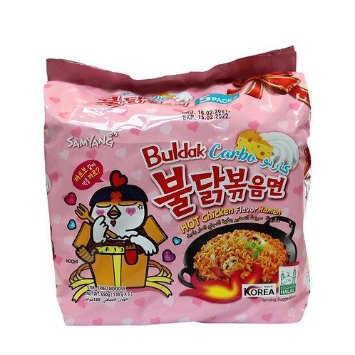Hot Chicken Ramen Carbo 650g