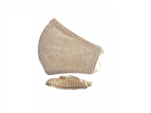 Lacely Copper-Ion Mask Ladies Beige 2