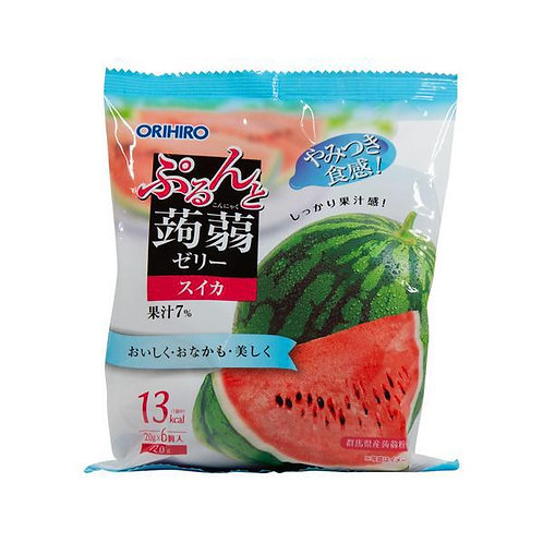 Watermelon Konnyaku Jelly 120g