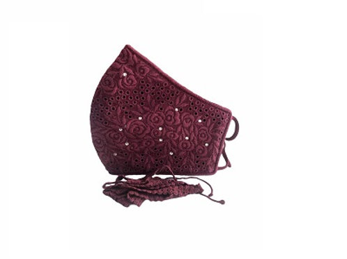 Lacely Copper-Ion Mask Ladies Maroon 4