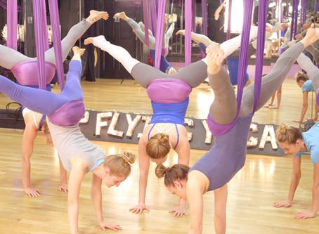 Up Flying Yoga Level 2 Teacher Training