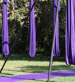 Aerial Yoga in the Park