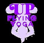 Up Flying Yoga logo