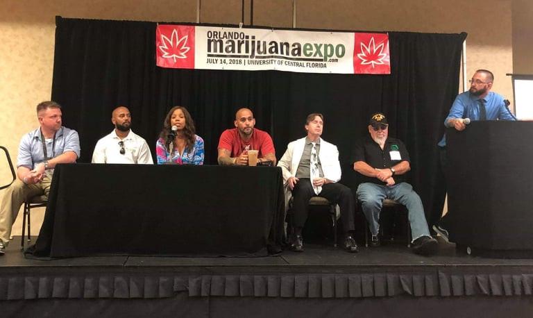 Orlando Medical Marijuana Expo 2018- Veteran's Panel