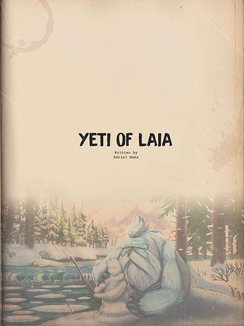 Yeti of Laia Cover Page by Adriel Meka.j