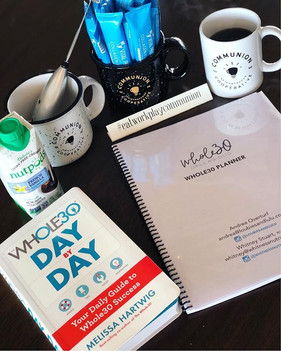 Our #DallasWhole30Duo coaching group is