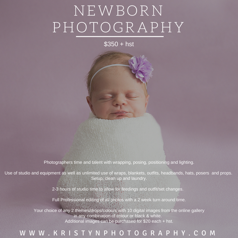 Prices | Kristyn Photography London