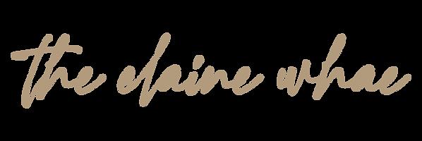 The Elaine Whae Logo - Light Brown.png