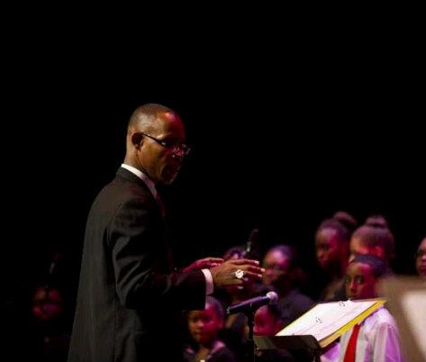 Vocal Performance of music I arranged for young voices at the historic Mecca Howard University Crampton Auditorium.