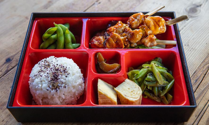ARIGATO JAPANESE CUISINE - CHICKEN TERIYAKI BENTO BOX