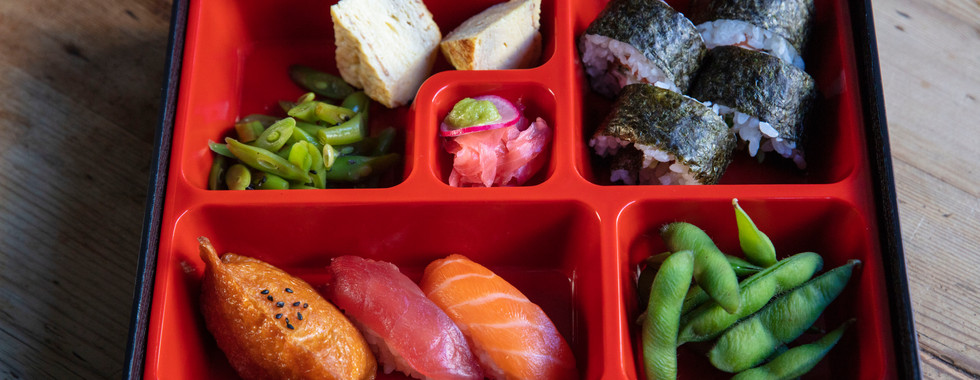 ARIGATO JAPANESE CUISINE - SASHIMI BENTO BOX