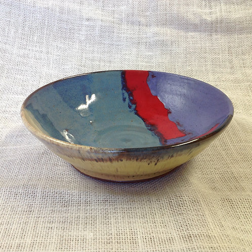 Medium size pottery serving bowl  Sold