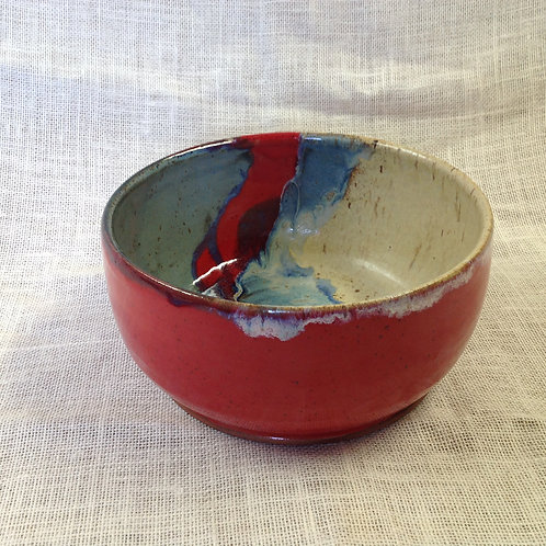Sold Large pottery bowl