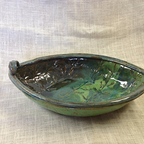 Large Boat Shaped Bowl sold