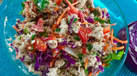 Perfect Pearing: Thai Ginger Chicken Salad