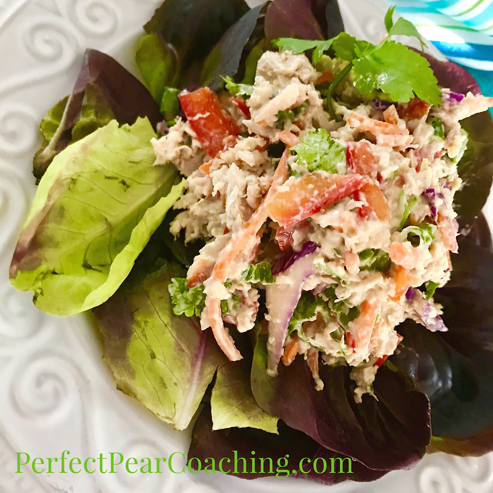Thai Ginger Chicken Salad